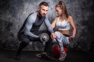 Tajemniczy klient kluby fitness